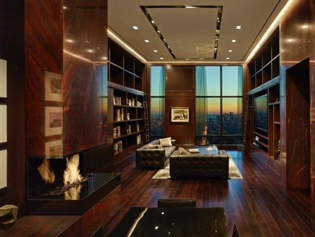 A Billionaire S Penthouse In New York By Oda Architecture