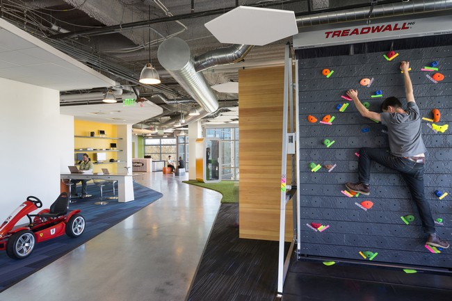 Godaddy Silicon Valley Office By Des Architects Engineers