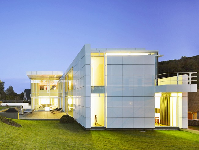 luxembourg house by richard meier partners