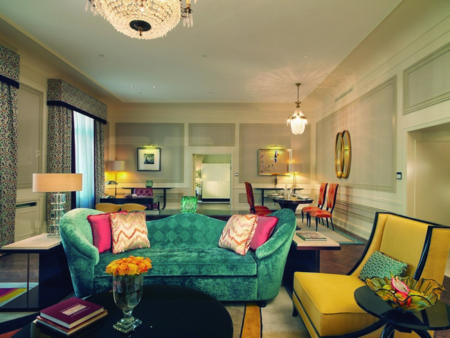 Belmond grand hotel europe presidential suite by tihany design for Hotel design europe