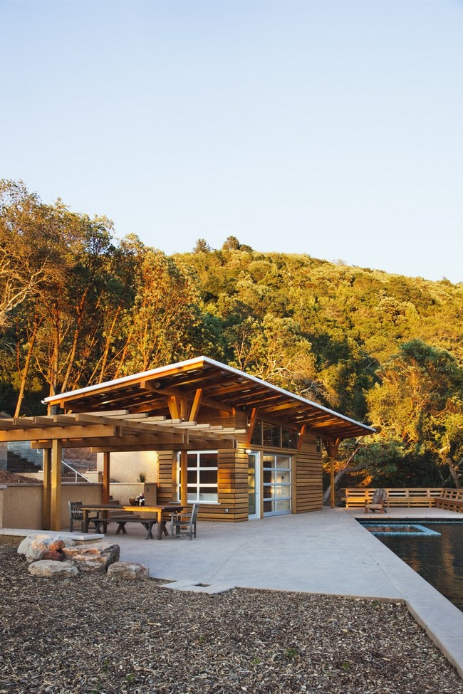 Sonoma Wine Country Cabana By Arkin And Tilt Architects