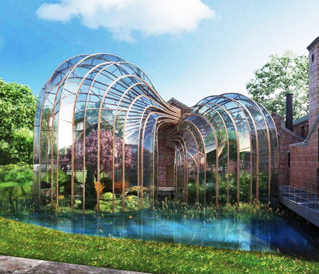 Bombay Sapphire's 18th Century Paper Mill Renovation By