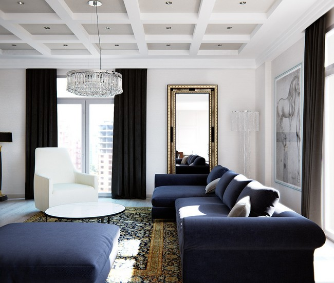 Stylish Apartment With Classic Design Features By Elvin